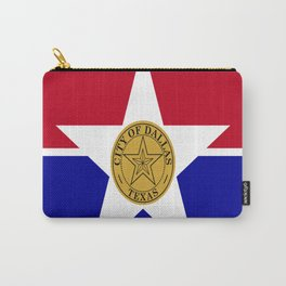 American cities-  Flag of Dallas. Carry-All Pouch