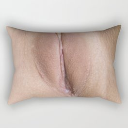 vagina Rectangular Pillow