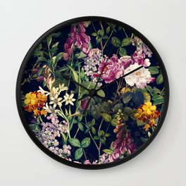 Midnight Forest VII Wall Clock