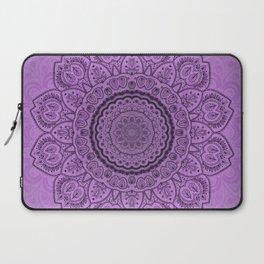Mandala on Light Purple Laptop Sleeve
