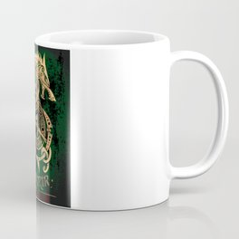 Fenrir: The Monster Wolf of Norse Mythology Coffee Mug