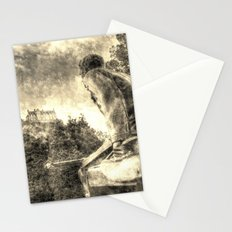 Scots American Memorial And Edinburgh Castle Vintage Stationery Cards