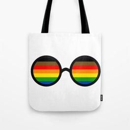 visibly gay Tote Bag