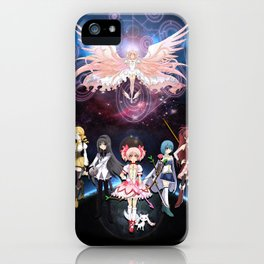 Madoka Magica iPhone Case