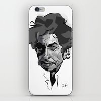 bob dylan iPhone & iPod Skins featuring BOB DYLAN! by nachodraws