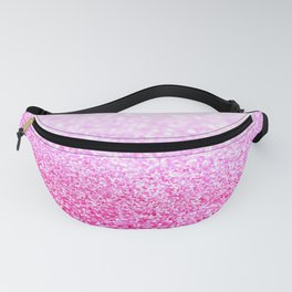 Pink Lavender Sparkle Glitter Fanny Pack