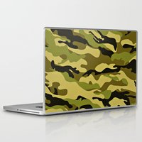 army Laptop & iPad Skins featuring ARMY by Sophie