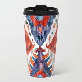 crush balinese ikat Travel Mug