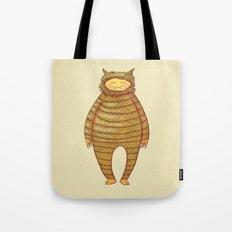 Fangs Monster Tote Bag