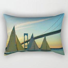 America's Cup Races - Newport, Rhode Island Rectangular Pillow