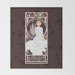Childlike Empress Nouveau - Neverending Story Throw Blanket