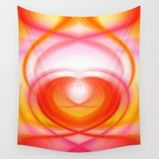 Twirl in Love Wall Tapestry