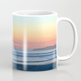 Sunset at Stinson Beach. Coffee Mug