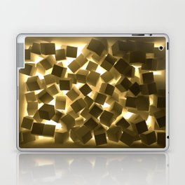 3D What Burns in Your Box? Laptop & iPad Skin