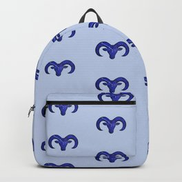 Astrological sign aries constellation Backpack
