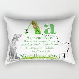 NICE LITTLE ANTS Rectangular Pillow