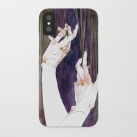 fabric iPhone & iPod Cases featuring Fabric by Jana Heidersdorf Illustration