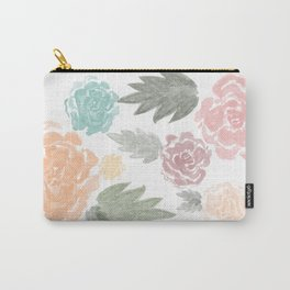 watercolour flowers Carry-All Pouch