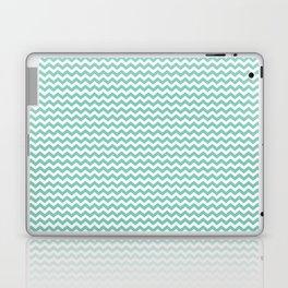 Chevron Mint Laptop & iPad Skin