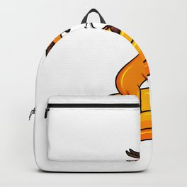 Antelope Riding On A Pencil Christmas Kid Gift Backpack