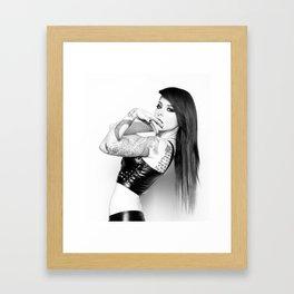 Fixated Framed Art Print
