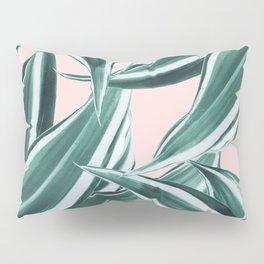 Dracaena Tropical Leaves Pattern #1 #tropical #decor #art #society6 Pillow Sham