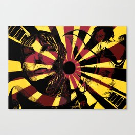 Yellow Ray Canvas Print