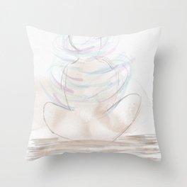 Be Vibrant Throw Pillow
