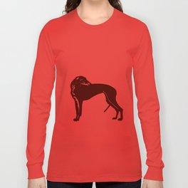 Greyhound Dog Long Sleeve T-shirt