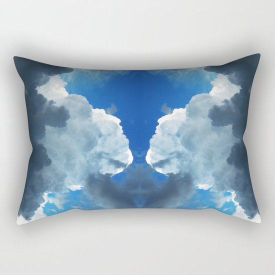 What Do You See #4 Rectangular Pillow