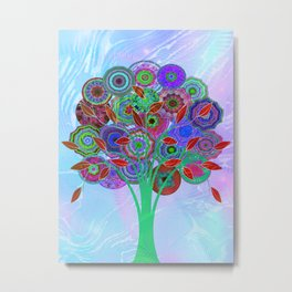 Tree of Life 4 Metal Print