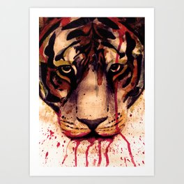 Tyger! Tyger! Burning Bright! Art Print