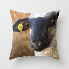 Lamb #0487 Throw Pillow