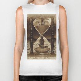 Sands of Time ... Memento Mori - Sepia Biker Tank