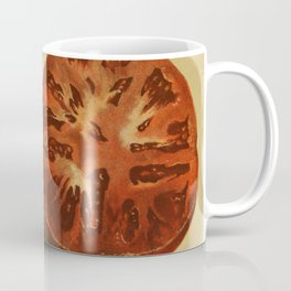Vintage Illustration of a Sliced Tomato (1871) Coffee Mug