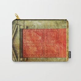 Red Doors Carry-All Pouch