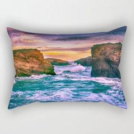 As Catedrais Rectangular Pillow