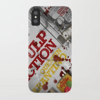 pulp fiction iPhone & iPod Cases featuring Pulp Fiction by Andres Asencio