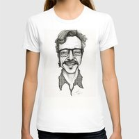 marc T-shirts featuring Marc Maron by Simone Bellenoit : Art & Illustration