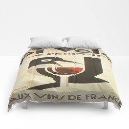 Vintage poster - Pivolo Aperitif Comforters