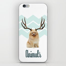 Puppy&Antlers iPhone Skin