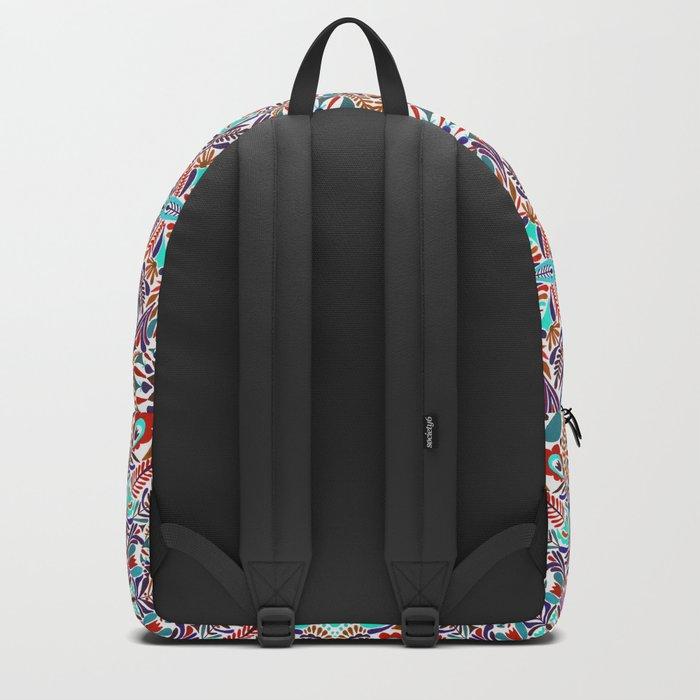 Flower explosion Backpack