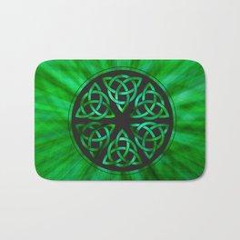 Celtic Knot Star Flower Bath Mat