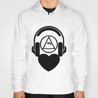 code Hoodies featuring CODE by LoveArtMusic®