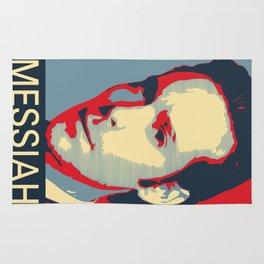Baltar 'Messiah' design. Inspired by Battlestar Galactica. Rug
