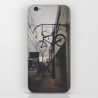 bicycles iPhone & iPod Skins featuring Bicycles by Wanderlust Fhotos