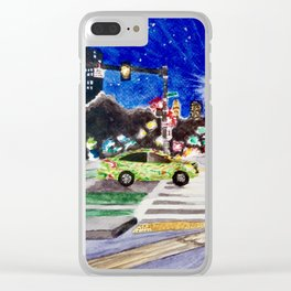Night Moves Clear iPhone Case