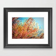 Trippin under a tree Framed Art Print