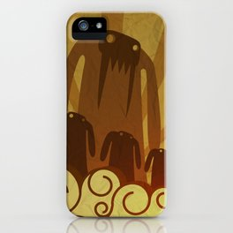 Monsters are coming! iPhone Case