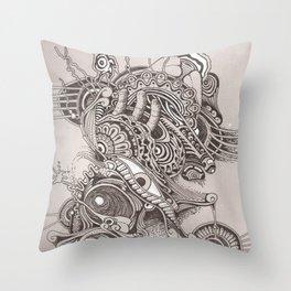 Strangeness Throw Pillow
